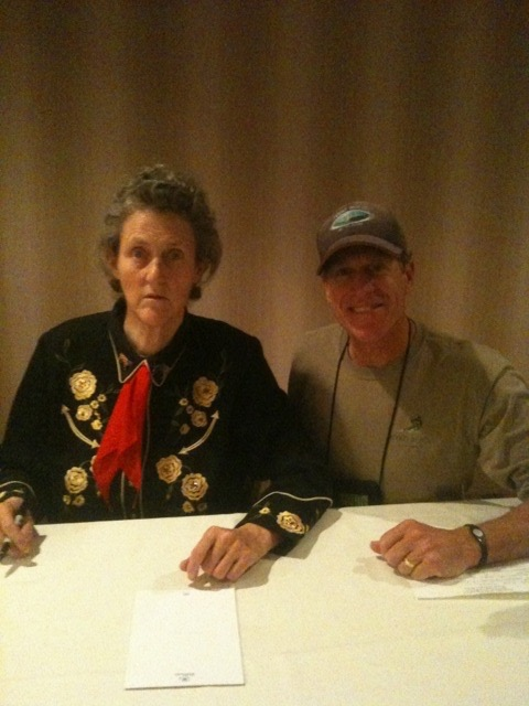 Rob Lerner Photos - Rob with Temple Grandin